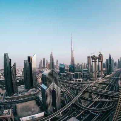 skyways and buildings